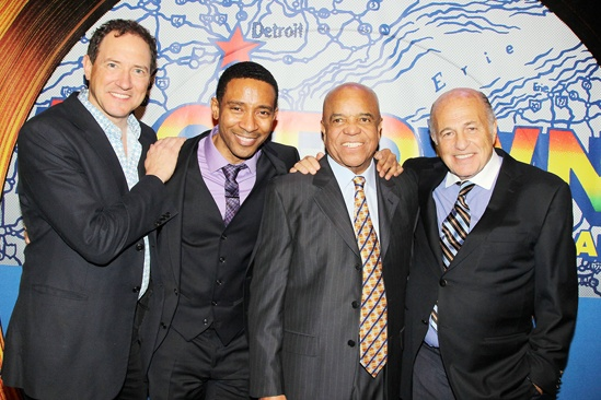 'Motown' Family Night — Kevin McCollum — Charles Randolph-Wright — Berry Gordy — Doug Morris
