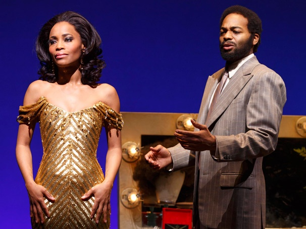 Show Photos - Motown the Musical - Valisia LeKae - Brandon Victor Dixon