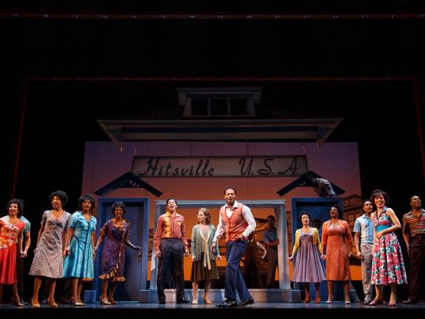 Show Photos - Motown the Musical - Brandon Victor Dixon - Cast