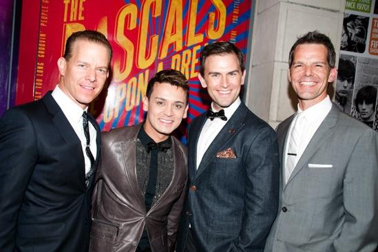 Rascals Opening Night – Christian Hoff – Michael Longoria – Daniel Reichard – J. Robert Spencer