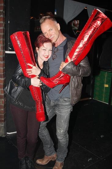 Kinky Boots- Cyndi Lauper- Sting