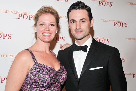 New York Pops gala – Elizabeth Stanley – Max Von Essen