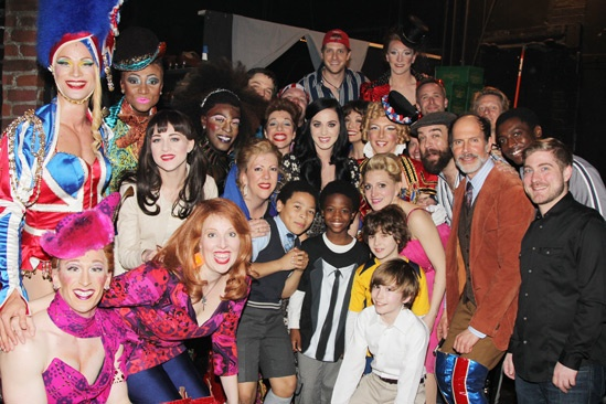 Kinky Boots- Katy Perry- Cast