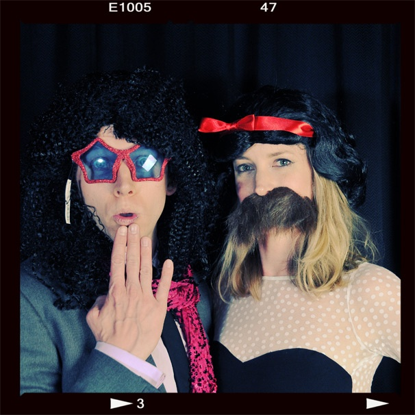 2013 BACA Photo Booth – Stark Sands – wife Gemma