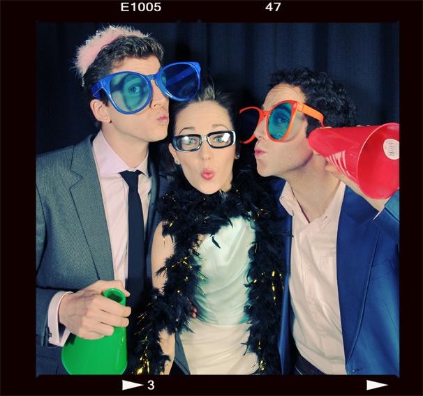 2013 BACA Photo Booth – Stark Sands – Laura Osnes – Santino Fontana