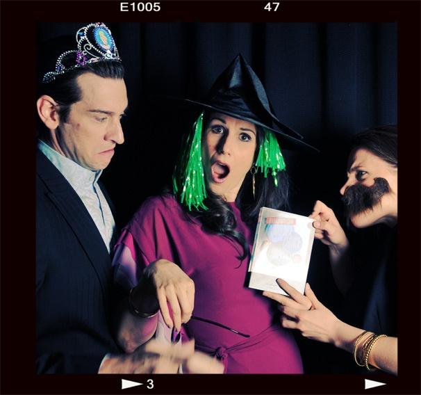 2013 BACA Photo Booth – Andy Karl – Stephanie J. Block – Jessie Mueller