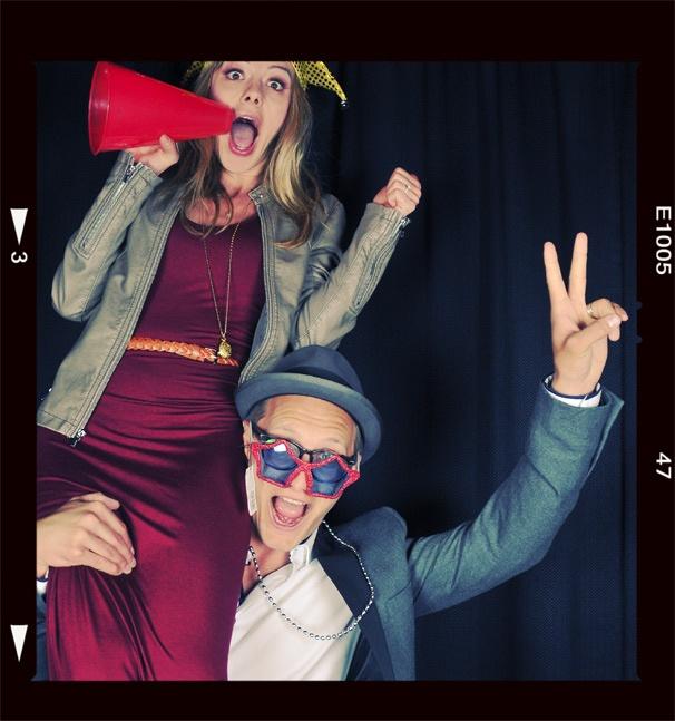 2013 BACA Photo Booth – Kate Rockwell – Nathan Johnson