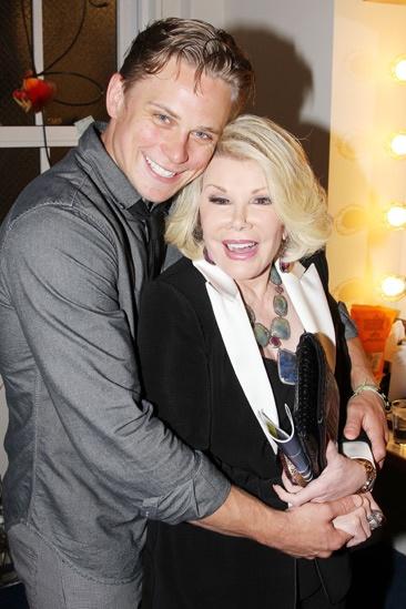 Joan Rivers and Tab Hunter at Vanya – Joan Rivers – Billy Magnussen