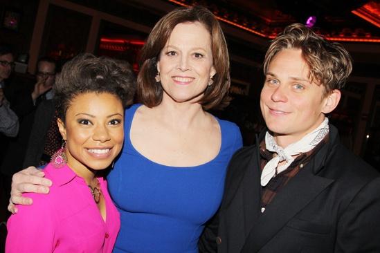 2013 Drama Critics Circle Awards – Shalita Grant – Sigourney Weaver – Billy Magnussen
