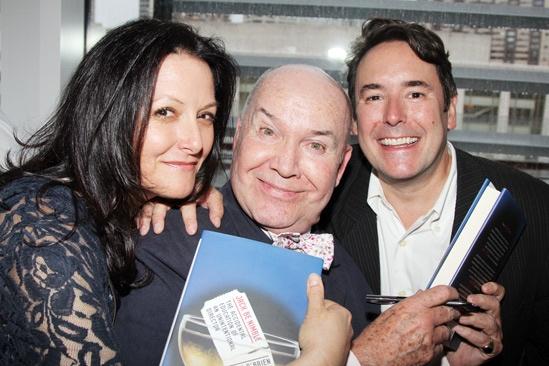 Jack O'Brien book party – Michele Lynch – Jack O'Brien – Matt Lenz