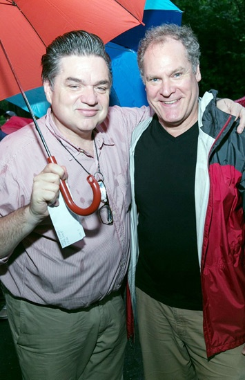 'The Comedy of Errors' Opening in Central Park — Oliver Platt — Jay O. Sanders