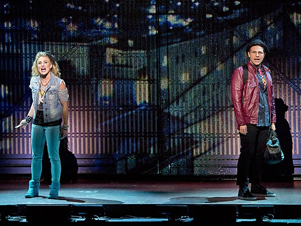 Show Photos - Flashdance - tour - David R. Gordon - Kelly Felthous