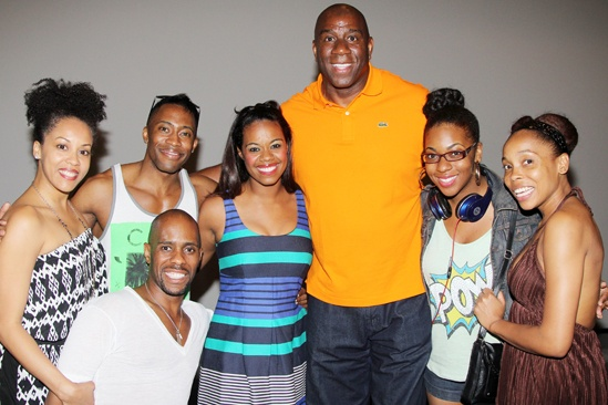 Magic Johnson at Motown — Magic Johnson