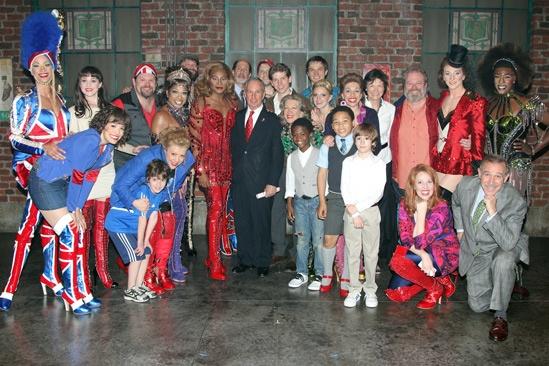 Kinky Boots- Mayor Mike Bloomberg- Cast