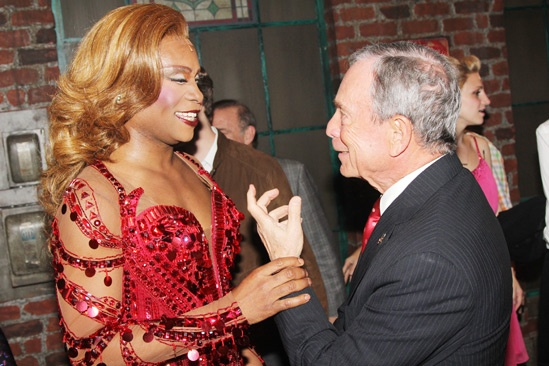Kinky Boots- Billy Porter- Mayor Mike Bloomberg