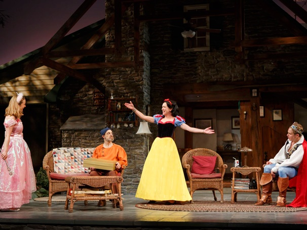 Show Photos - Vanya and Sonia and Masha and Spike - Liesel Allen Yeager - David Hyde Pierce - Julie White - Billy Magnussen