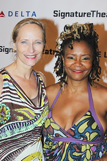 The Old Friends – Opening Night – Laila Robins – Tonya Pinkins