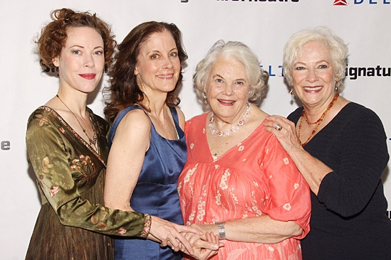 The Old Friends – Opening Night – Veanne Cox - Hallie Foote - Lois Smith – Betty Buckley