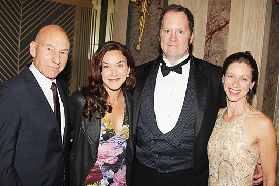 American Theatre Wing – Hal Prince Gala 2013 – Patrick Stewart – Sunny Ozell – Shuler Hensley – Paula DeRosa