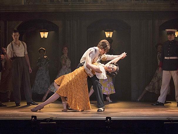 Show Photos - Evita - tour - Christopher Johnstone - Caroline Bowman