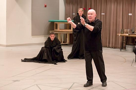 Macbeth – Rehearsal Photos – John Glover – Byron Jennings – Jack O'Brien