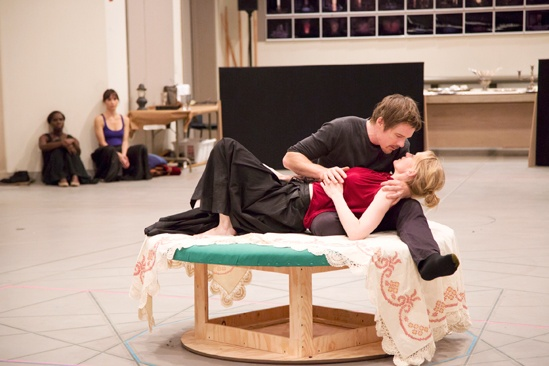 Macbeth – Rehearsal Photos – Anne-Marie Duff - Ethan Hawke