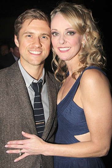 Big Fish – Opening Night – Aaron Tveit – Angie Schworer