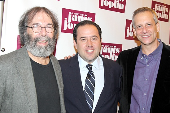 A Night With Janis Joplin – Opening Night – Michael Cohl – Todd Gershwin - Daniel Chilewich