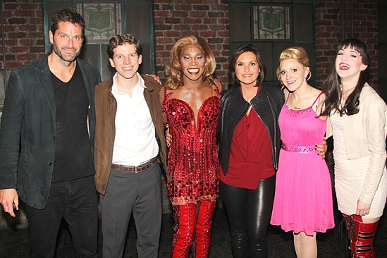 Mariska Hargitay at Kinky Boots – Annaleigh Ashford – Mariska Hargitay – Billy Porter – Peter Hermann – Stark Sands – Lena Hall
