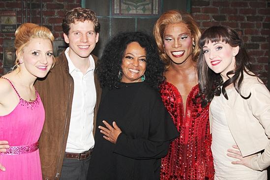 Diana Ross at Kinky Boots – Annaleigh Ashford – Stark Sands – Diana Ross – Billy Porter – Lena Hall