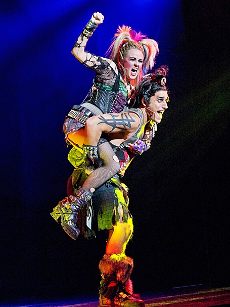 Show Photos - We Will Rock You - tour - Erica Peck - Jared Zirilli