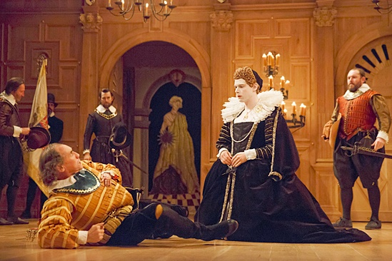 <I>Richard III</I>: Show Photos - Mark Rylance - Samuel Barnett