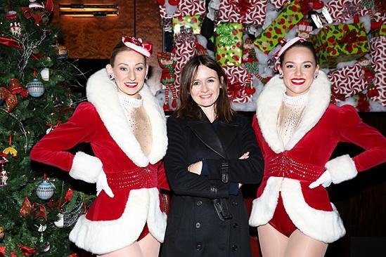 Radio City Christmas Spectacular 2013 opening – Ashley Kasunich – Emily Mortimer – Raley Zofko