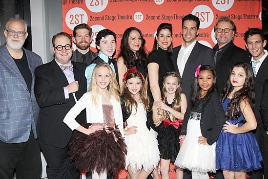 Little Miss Sunshine – Opening Night – cast and William Finn