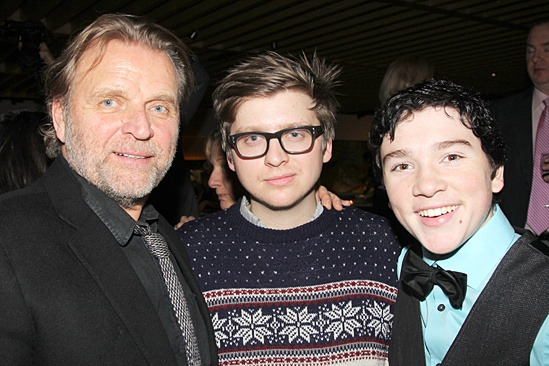 Little Miss Sunshine – Opening Night – David Rasche – son – Logan Rowland