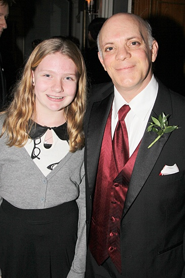 Gentleman's Guide opening night – Eddie Korbich – daughter