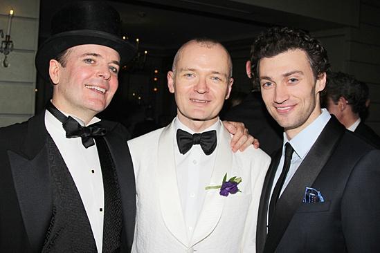 Gentleman's Guide opening night – Jefferson Mays – Darko Tresnjak – Bryce Pinkham