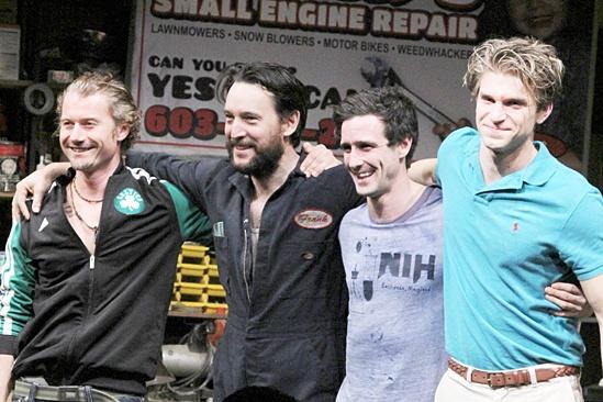 Small Engine Repair opening – James Badge Dale – John Pollono – James Ransone – Keegan Allen
