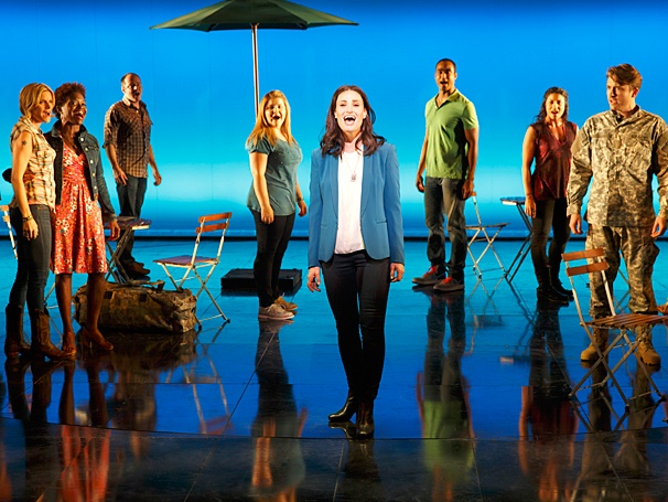 <I>If/Then</I>: Show Photos - Idina Menzel - Cast
