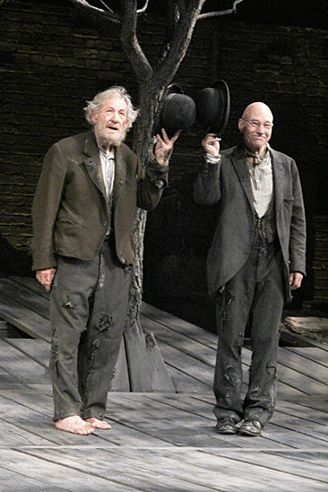Waiting For Godot – Opening Night – Ian McKellen – Patrick Stewart