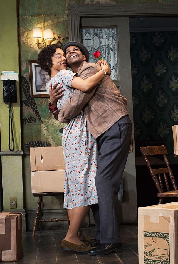 A Raisin in the Sun - Show Photos - PS - 3/14 - Denzel Washington - Sophie Okonedo