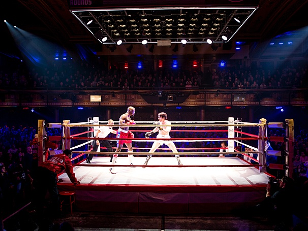 Rocky - Show Photos - PS - Terence Archie - Andy Karl