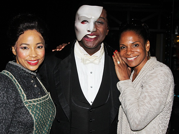 Phantom of the Opera - Backstage - OP - 6/14 - Heather Hill - Norm Lewis - Audra McDonald