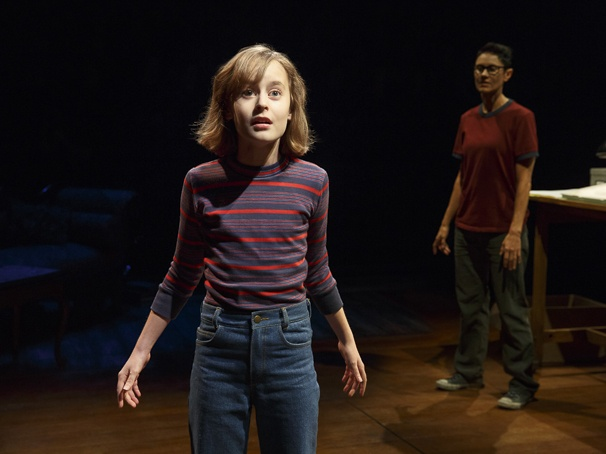 Fun Home - Show Photos - 4/15 - Sydney Lucas  - Beth Malone