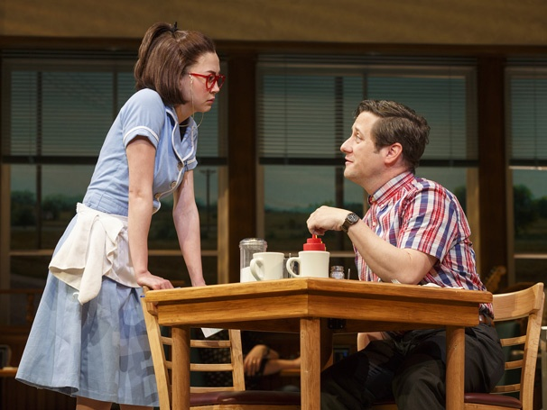 Show Photos - Waitress - 4/16 - Kimiko Glenn - Christopher Fitzgerald