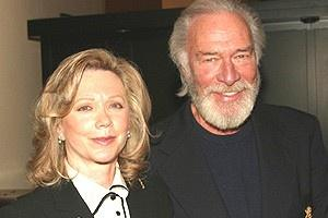 Broadway.com | Photo 7 of 15 | A Party Fit for King Lear!  Amanda Plummer Christopher Plummer