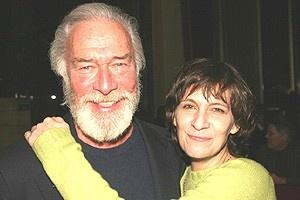 Broadway.com | Photo 8 of 15 | A Party Fit for King Lear! Amanda Plummer Christopher Plummer