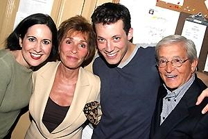 Judge Judy at Avenue Q - Stephanie D'Abruzzo - Judy Sheindlin - John Tartaglia - Jerry Sheindlin