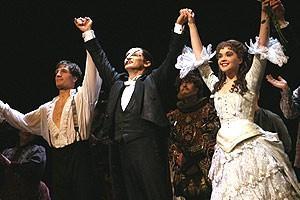 Phantom 7000th Performance - Curtain - John Cudia - Hugh Panaro - Julie Hanson