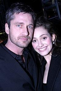 Phantom Film Stars at Bloomingdale's - Gerard Butler - Emmy Rossum